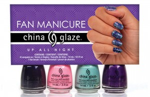 China Glaze Up All Night Fan KIT