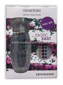 CRYSTAL PIXIE Nail Box do zdobienia paznokci EXOTIC EAST 5,0 g Crystals from Swarovski