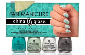 China Glaze Turn In Up Fan KIT