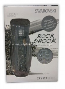 CRYSTAL PIXIE Nail Box do zdobienia paznokci ROCK SHOCK 5,0 g Crystals from Swarovski