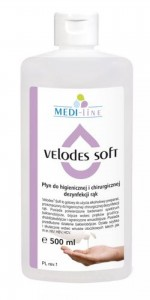 VELODES SOFT Pyn do dezynfekcji rąk 500ml