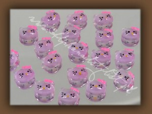 Fimo Hello Kitty 3D k08