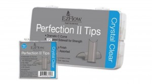 Ez Flow Tips Perfection II Crystal Clear 100 sztuk