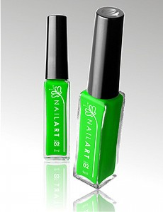 Liner Nail Art 9ml - Zielony Neon
