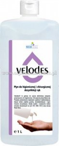 VELODES SOFT Pyn do dezynfekcji rąk 1L (ref. SSE-43-GOT-ML559)